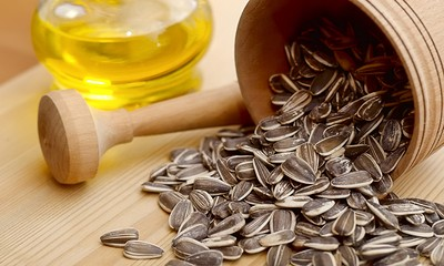 SUNFLOWER SEED OIL COLD PRESSED
